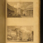 1827 LONDON 1ed Metropolitan Improvements England Architecture Cathedrals BEAUTY