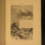 1892 1ed Whymper Travels in Andes Matterhorn Alpine Illustrated Voyages MAPS