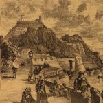 1884 1ed Jules Verne Vanished Diamond Archipelago on Fire Hetzel Elephants! 2in1
