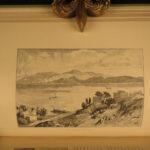 1890 1ed Picturesque Mediterranean Sea Alexandria EGYPT Corsica Smyrna FOLIOS 2v