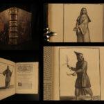 1718 1ed MONASTIC & Military Religious Orders Franciscan Monks Saints Helyot