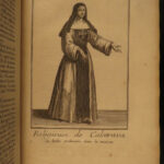 1718 1ed Religious Orders Knights Franciscan Monks Illustrated Saints Helyot