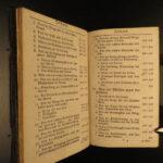 1785 German Hymnbook Mannheim Germany MUSIC Songs Electoral Palatinate