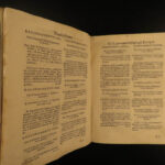 1674 1st ed BIBLE Sermons for Lent & Easter Italian Calamato Catholic Venice