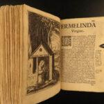 1655 1ed Ercolani Heroines Solitude Anti-Feminism Female SAINTS Chastity Thais