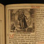 1676 Missale Romanum Catholic Missal Pope Clement Chant Music Ritual BIBLE ART