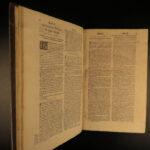 1698 1ed Sylvius Commentary on Summa AQUINAS Existence God Catholic FOLIO