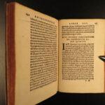 1537 1ed Orthodox Saint John Chrysostom On the Priesthood + Brixius Marburg