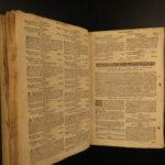 1631 Common Prayer Church of England Anglican BIBLE Psalms Hanmer Shakespeare