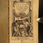 1629 Laus Asini by Daniel Heinsius Golden Ass Parody Humor Elzevier Latin