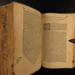 1556 1ed Thomas Aquinas BIBLE Commentary on Epistles of Paul Latin New Testament