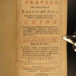 1693 CHINA 1ed Avril Travels Asia Arabia Voyages Syria Iraq Iran Russia Poland