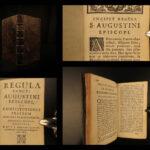 1697 1ed Rule of Saint Augustine Monastic Order of Preachers Dominican Cloche