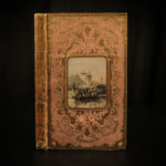 1854 BEAUTIFUL BINDING Pacific Ocean Voyages Japan China Philippines Benyovszky