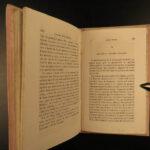 1856 BEAUTIFUL BINDING Voyages in Oceania Pacific New Zealand Fiji Vancouver