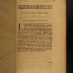 1675 English LAW 1ed Henry Rolle Reports King James I Charles I Court French 2v