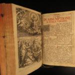 1735 Prague Bohemia Roman Missal Catholic Pope Clementi Missale Romanum Music