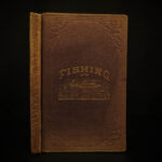 1875 FISHING Hook & Line Salmon Angling Sports Hunting Herbert Forrester Fish