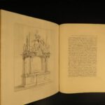 1814 1st ed Salisbury Lichfield Cathedral Church Illustrated Church of England Britton
