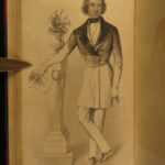 1844 Graham Lady Fashion Magazine Edgar Allen Poe 1ed Reviews Engravings