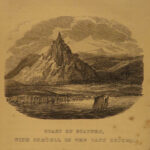 1835 1ed Visit to ICELAND John Barrow Illustrated Cathedrals Landscapes Voyages