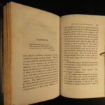 1826 1ed Last of the Mohicans James Fenimore Cooper Seven Years WAR Native Americans