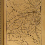 1870 1st ed Robert E Lee Campaigns CIVIL WAR Confederate Virginia MAPS McCabe
