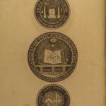 1856 1ed Code of Masonic Law Robert Morris Freemasonry Ancient Rites Rituals