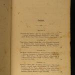 1853 1ed Tasmania Australia Meredith Aborigines Poison Animals Plants Sydney