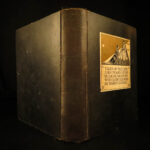 1933 1ed Edgar Allen Poe Tales of Mystery Clarke COLOR Illustrated Macabre