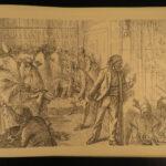 1874 1ed Nile Ancient EGYPT Ruins Thebes gods Pharaohs Turks Karnak Temple ART