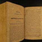 1826 South America & MEXICO Revolution PERU Chile Simon Bolivar Guatemala