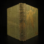 1907 1st ed Olive Fairy Book Andrew Lang Fairy Tales Turkey India Green Knight