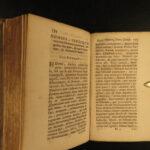 1689 1st ed Republicae Batavia Holland Dutch Netherlands LAW Politics Houtuyn