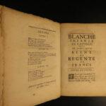 1644 1ed Blanche of Castile Saint Louis IX France Crusades Louis VIII Combault