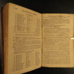 1797 EARLY American Dilworth Schoolmaster's Assistant Mathematics Connecticut