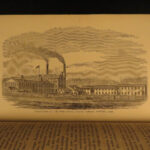 1872 Great Industries of US Gold Rush Railroad Industrial Revolution Illustrated