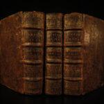1659 Works of Seneca Stoic Philosophy Stoicism Latin Rome Elzevier Lipsius 3v