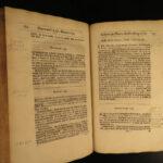 1662 LAW 1ed John Latch Court Cases Charles I of England Edward Walpole French