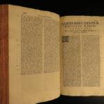 1721 Saint Lawrence Justinian Catholic Bishop of Medieval Venice Sermons FOLIO