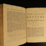 1737 1ed Letters of Alexander Pope English Literature Lady Wortley Montagu