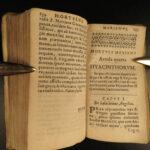 1622 MARY Hortulus Marianus Catholic Church Douai Doway  la Croix Miniature