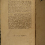 1741 John LOCKE Essay Concerning Human Understanding Philosophy Tabula Rasa 2v