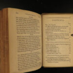 1778 Fairy Queen Edmund Spenser Poetry Faerie Queene Vellum 8v SET w/ Provenance
