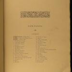 1867 DANTE Alighieri Divine Poem Cary Flaxman ART FOLIO Purgatory Paradise RARE