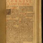 1690 Prague Bohemia Roman Missal Catholic Pope Clement Missale Romanum Music