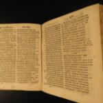 1760 Hebrew Torah Dictionary Ha-Shorashim Bible Grammar Yiddish Ashkenazi Jews