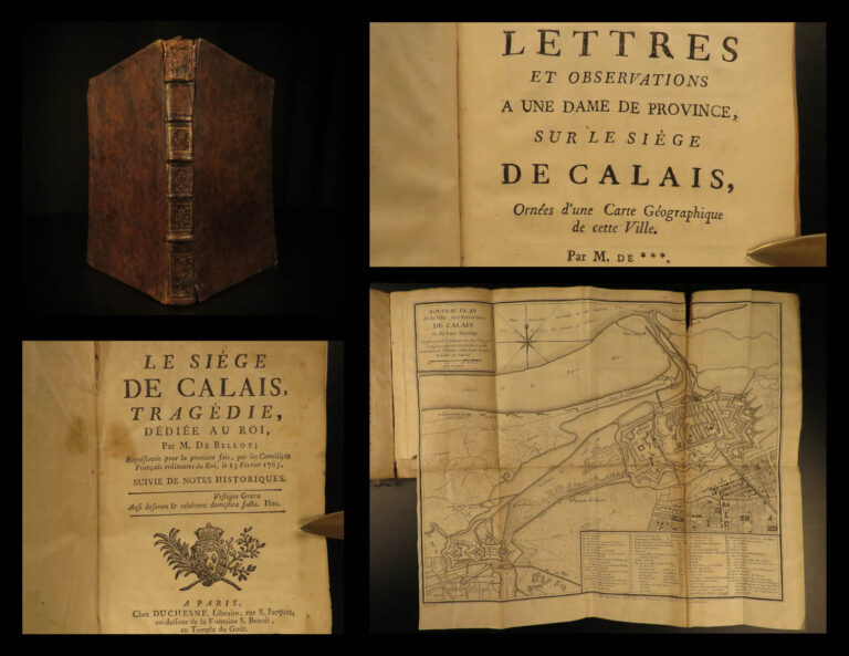 Image of 1765 Siege of Calais French Play by de Belloy Seven Years War France Patriotism