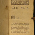 1765 Siege of Calais French Play by de Belloy Seven Years War France Patriotism