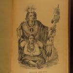 1882 1ed Life of Black Hawk Sauk Indians Native American WARS Illinois Massacre